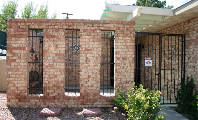 Before Photo Again....so You Donu0027t Have To Scroll To The Top. Front Patio  Wall ...