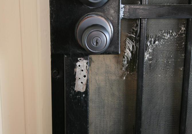 Door latch screen door latch repair for Screen door replacement