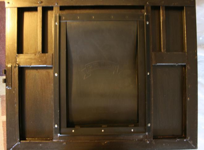 Laurel's Adventures in Home Repair - Screen Door Backyard
