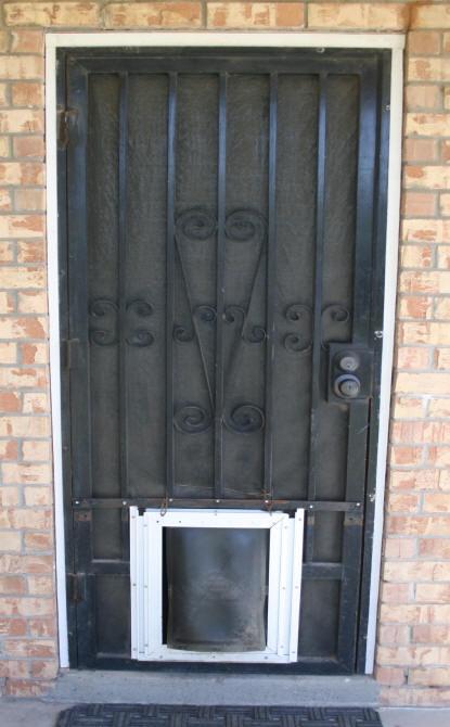 & Laurel\u0027s Adventures in Home Repair - Screen Door Backyard