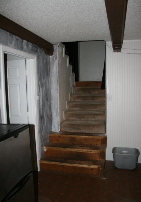 When You Used These Stairs, There Was Nothing To Really Hold Onto With The  Gate In The Way. I Had Already Had A Few Step Mishaps Which Are Just  Wonderful ...