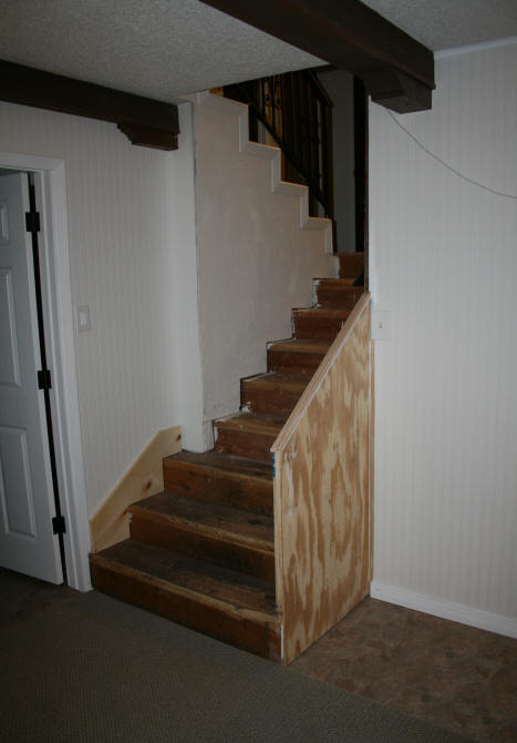Install Them First, Then Put On The Stair Treads And Risers OR Install The  Treads And Risers First And Then Make The Stair Skirts Placing Them On Top  Of The ...